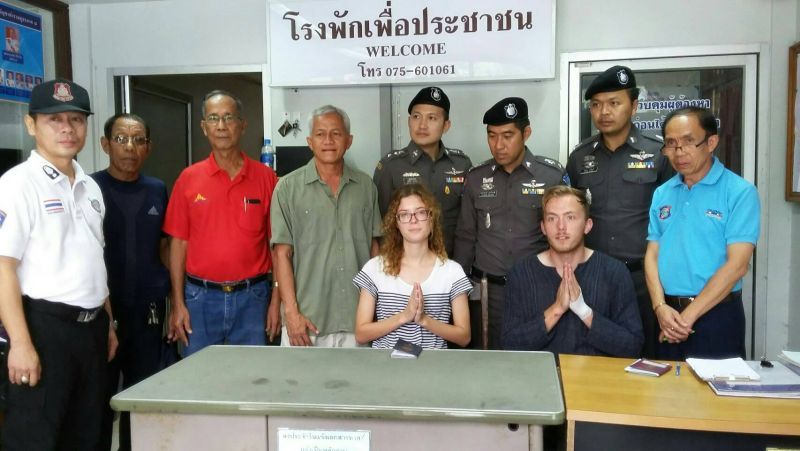 Foreign college exchange students fined for filmed drunken public lewd behaviour on Phi Phi